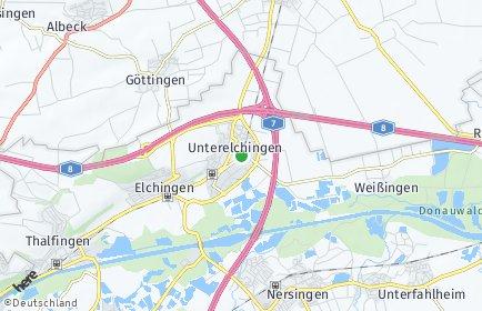 Stadtplan Elchingen