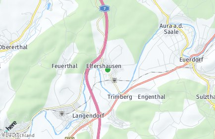Stadtplan Elfershausen