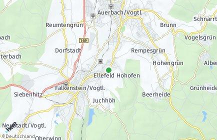 Stadtplan Ellefeld