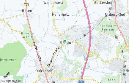 Stadtplan Ellerau