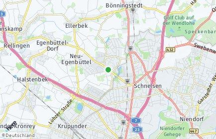 Stadtplan Ellerbek