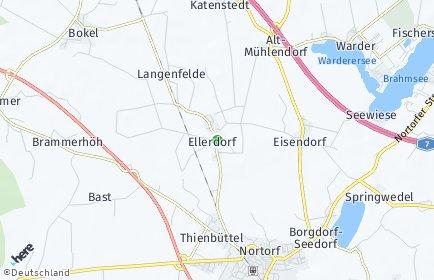 Stadtplan Ellerdorf