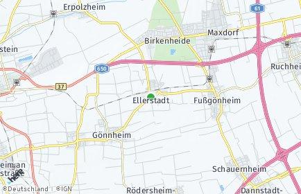 Stadtplan Ellerstadt