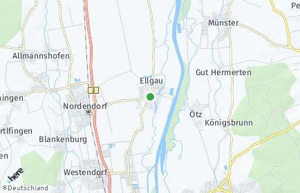 Stadtplan Ellgau