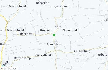 Stadtplan Ellingstedt
