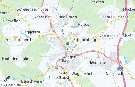 Stadtplan Ellwangen (Jagst)