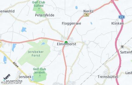 Stadtplan Elmenhorst (Stormarn)
