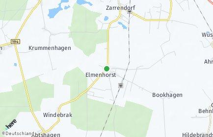 Stadtplan Elmenhorst (Vorpommern)