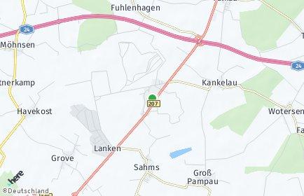 Stadtplan Elmenhorst (Lauenburg)