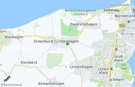 Stadtplan Elmenhorst/Lichtenhagen