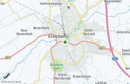 Stadtplan Elmshorn
