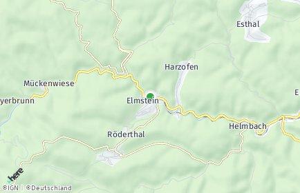 Stadtplan Elmstein