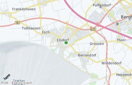 Stadtplan Elsdorf (Rheinland)