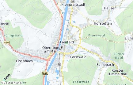 Stadtplan Elsenfeld