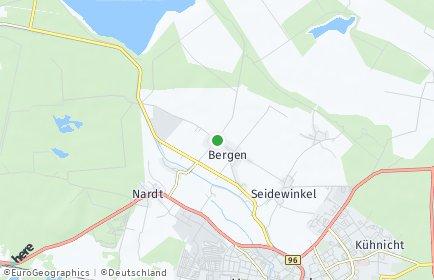 Stadtplan Elsterheide