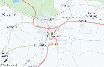 Stadtplan Elsterwerda