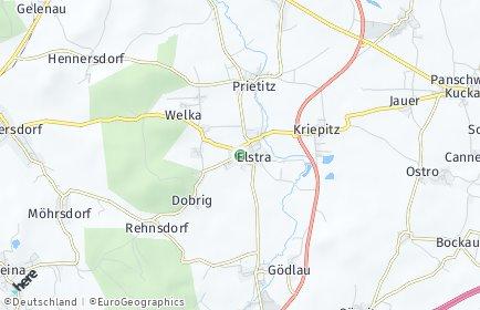 Stadtplan Elstra