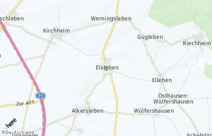 Stadtplan Elxleben (Ilm-Kreis)