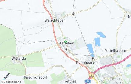 Stadtplan Elxleben (Landkreis Sömmerda)
