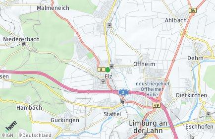 Stadtplan Elz (Westerwald)