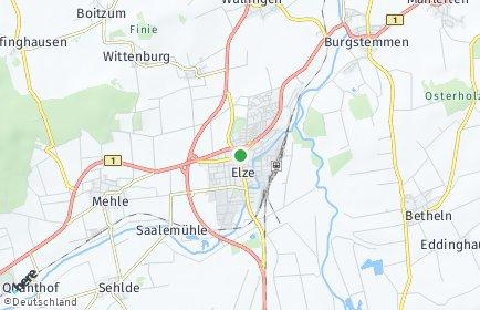 Stadtplan Elze
