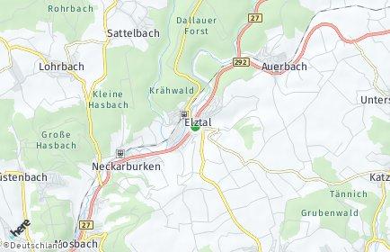 Stadtplan Elztal