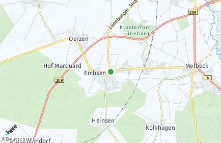 Stadtplan Embsen