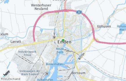 Stadtplan Emden