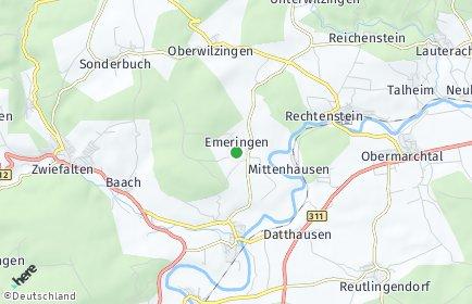 Stadtplan Emeringen