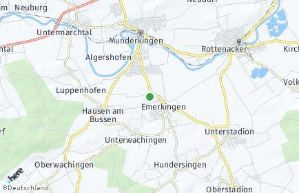 Stadtplan Emerkingen