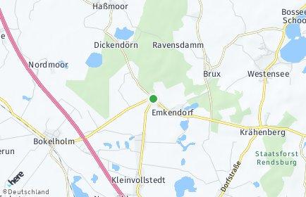 Stadtplan Emkendorf