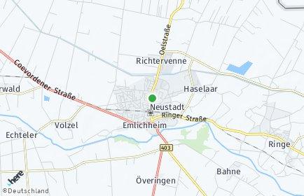 Stadtplan Emlichheim
