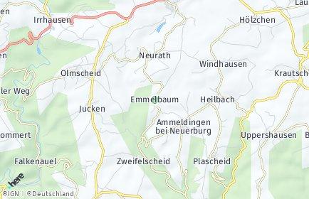 Stadtplan Emmelbaum