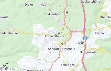 Stadtplan Emmelshausen