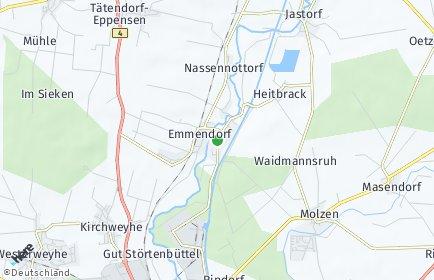 Stadtplan Emmendorf