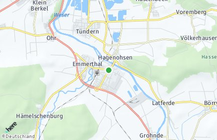 Stadtplan Emmerthal
