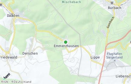 Stadtplan Emmerzhausen