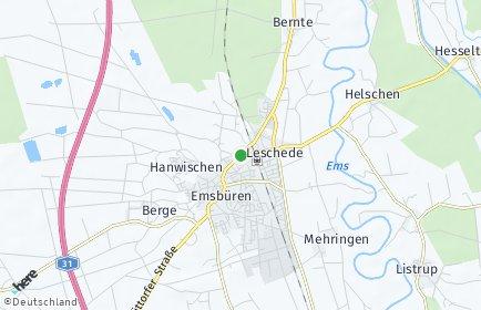 Stadtplan Emsbüren