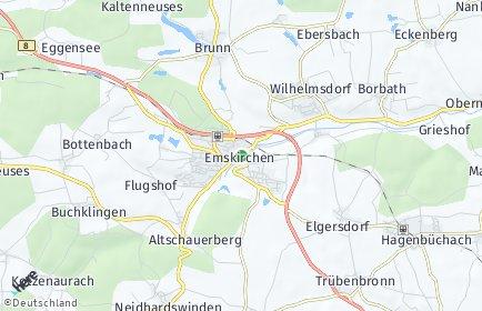Stadtplan Emskirchen