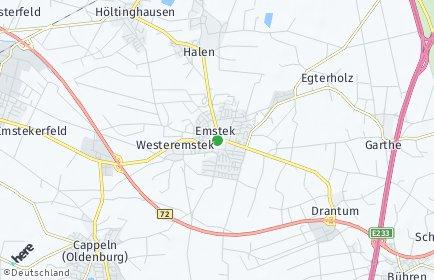 Stadtplan Emstek