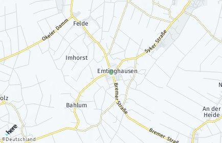 Stadtplan Emtinghausen