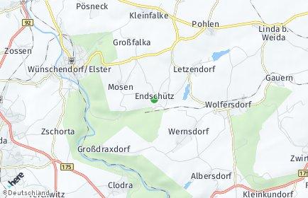 Stadtplan Endschütz