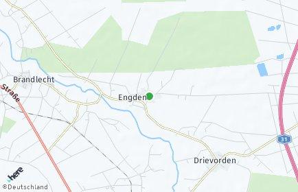 Stadtplan Engden