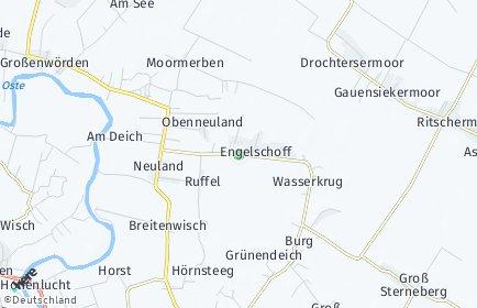 Stadtplan Engelschoff OT Neuland