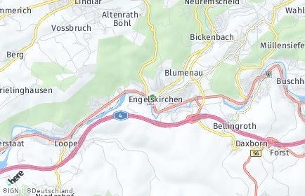 Stadtplan Engelskirchen