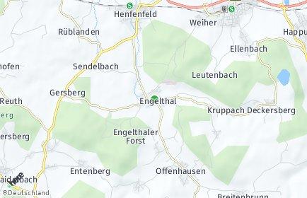 Stadtplan Engelthal