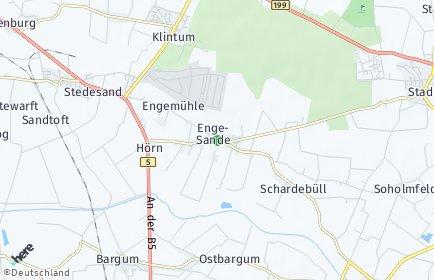 Stadtplan Enge-Sande