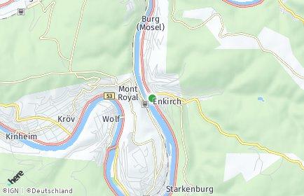 Stadtplan Enkirch