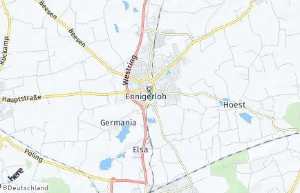 Stadtplan Ennigerloh