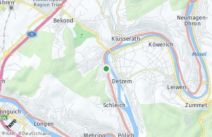Stadtplan Ensch